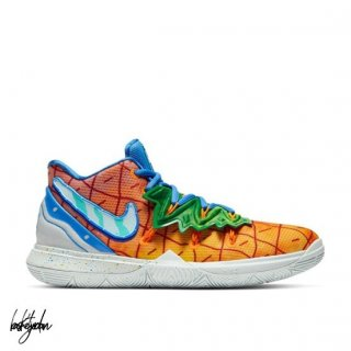 Commander Nike Kyrie Irving V 5 (GS) 'Spongebob Pineapple House' Orange (CJ7227-800) En Ligne